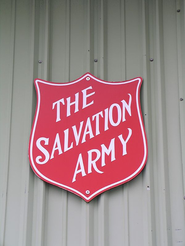 Salvation Army Red Kettles Kinda Empty This Year