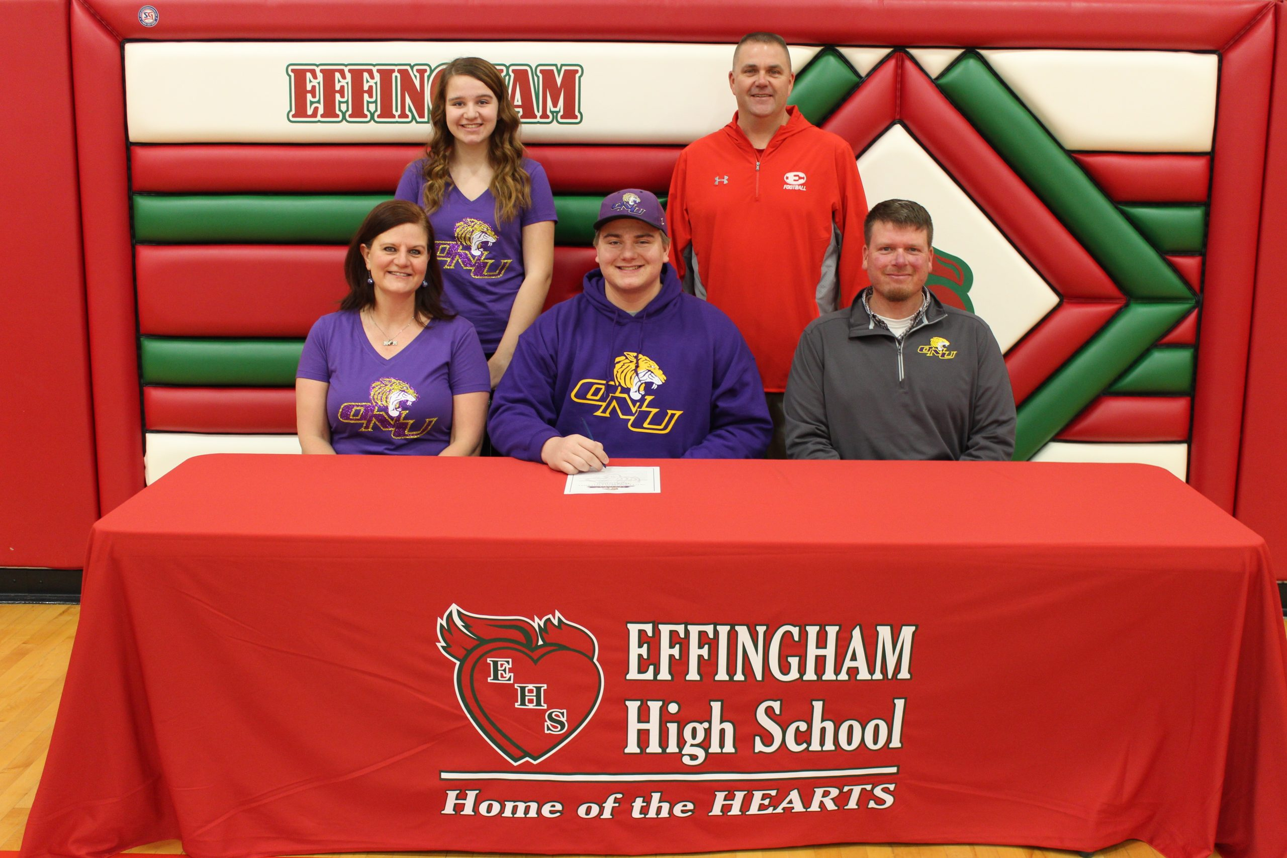 Drew Niebrugge Signs to Play Football at Olivet Nazarene University