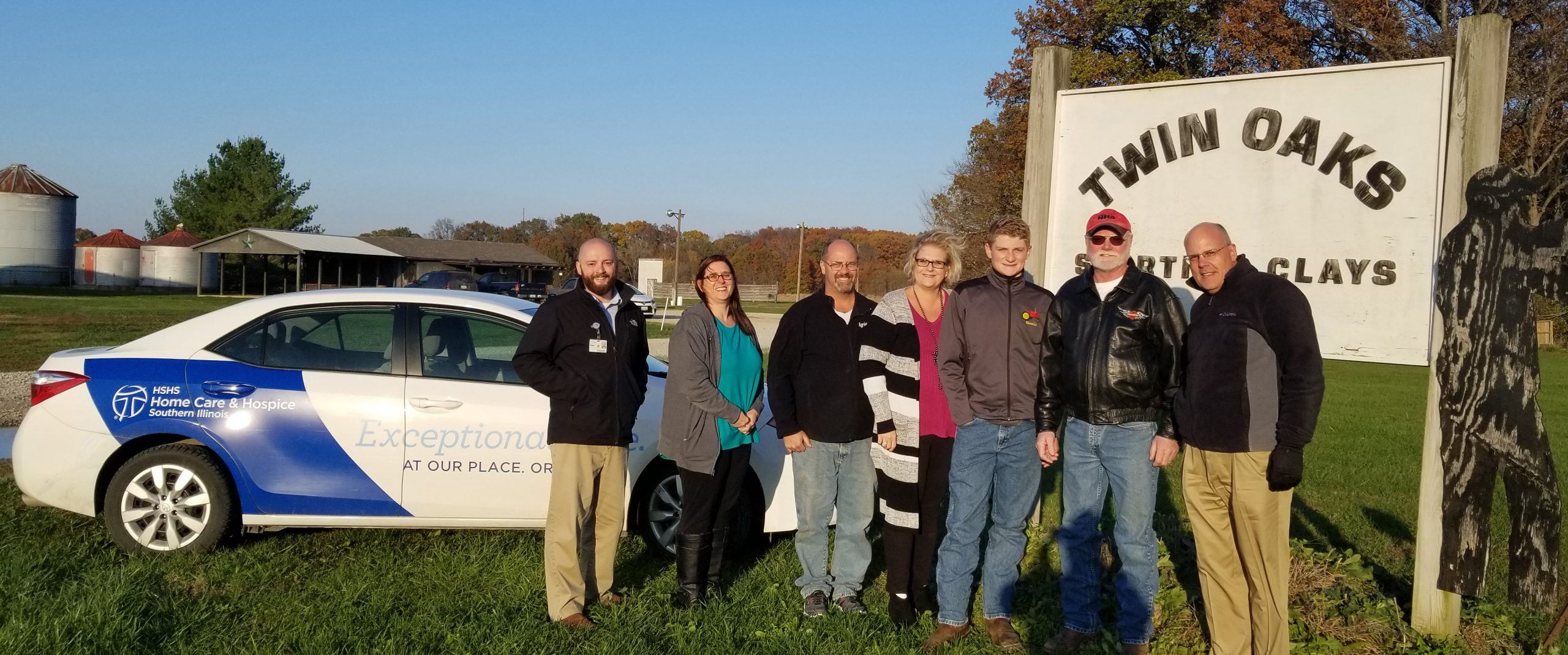 Twin Oaks Sporting Clays supports HSHS Hospice Southern Illinois