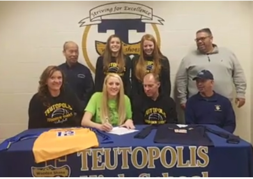 Local Teutopolis High School Player Signs With Vincennes University in Indiana