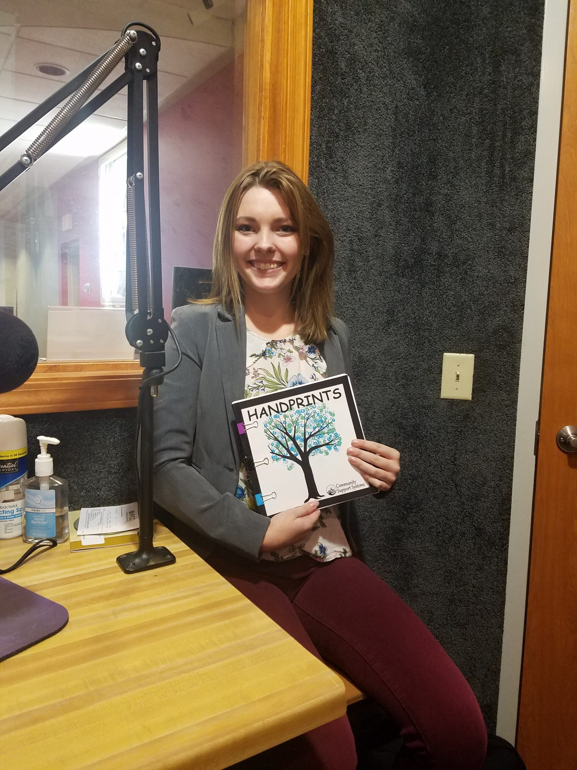 Local Student Partners with Community Support Systems to Publish Book