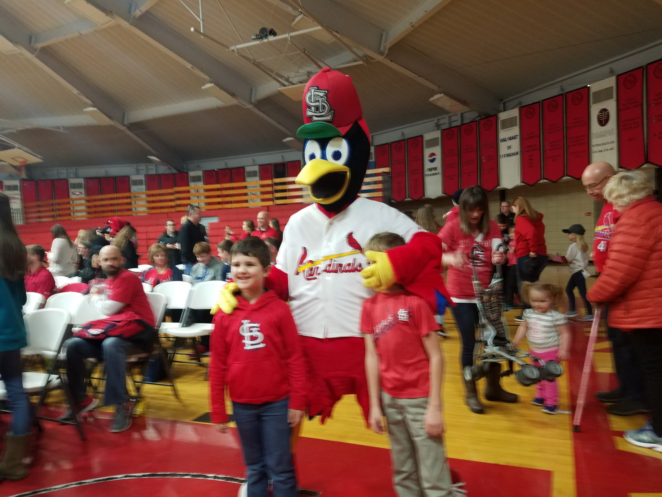 St. Louis Cardinals Players Meet With Fans During 2018 Cardinals Caravan