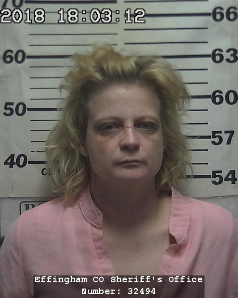 Neoga Woman Arrested for Forgery in Effingham County, Also Facing Charges in Fayette, and Champaign Counties