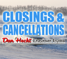 Closings and Cancellations for Tuesday January 16th