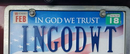 "State Rep. David Reis Introduces Bill Allowing for Issuance of ""In God We Trust"" Special License Plate Decals by the Illinois Department of Veterans' Affairs."