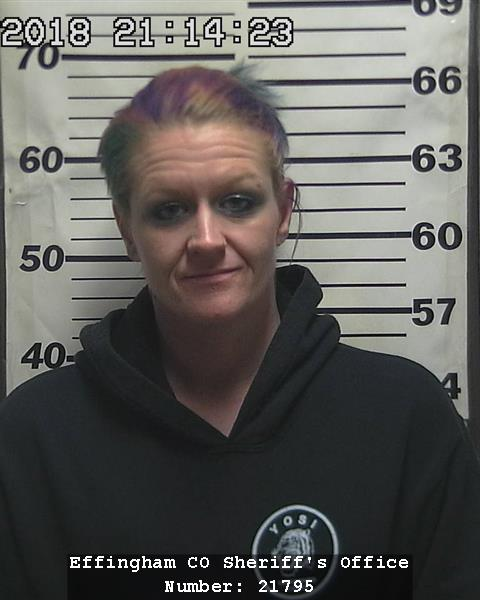 Beecher City Woman Arrested for January Auto Theft in Altamont