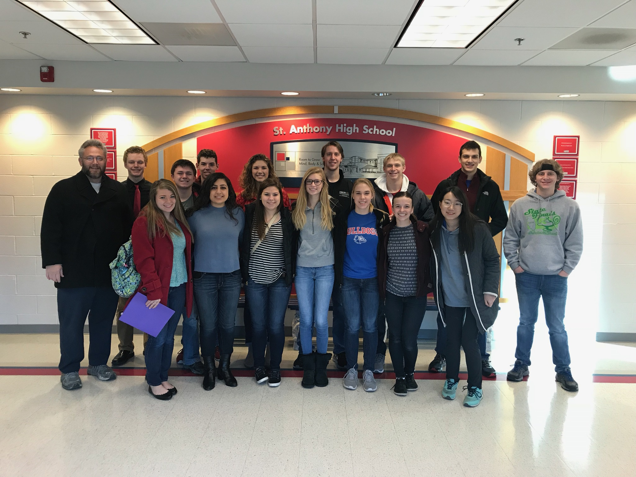 St. Anthony High School WYSE Team Takes 1st Place in Regional Contest