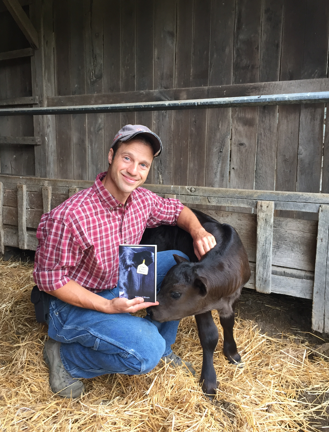 """Meet Local Author of """"Cows I Have Known"""" at the Suzette Brumleve Memorial Effingham Public Library"""