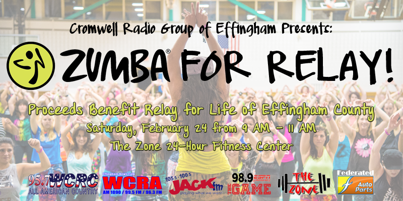 Cromwell Radio Group of Effingham Presents: Zumba for Relay!
