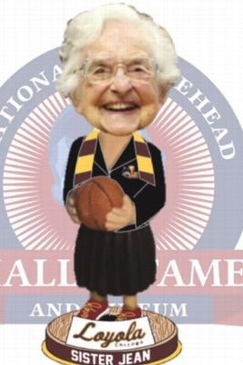 """Loyola-Chicago """"Sister Jean"""" Bobblehead Quickly Becomes Best-Selling in Bobblehead Hall of Fame History"""