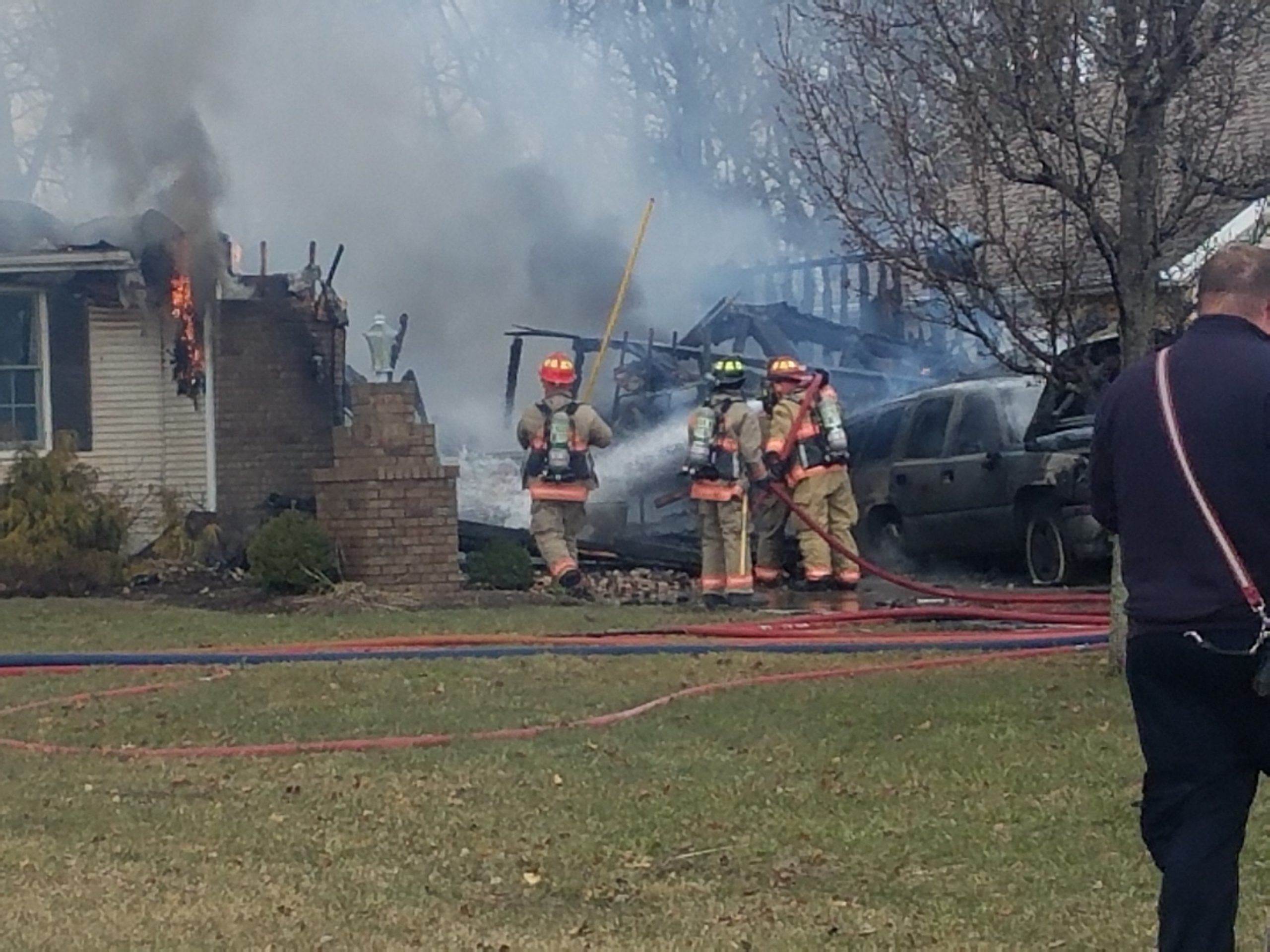 Residential Fire Leads to Total Loss of Home in Effingham