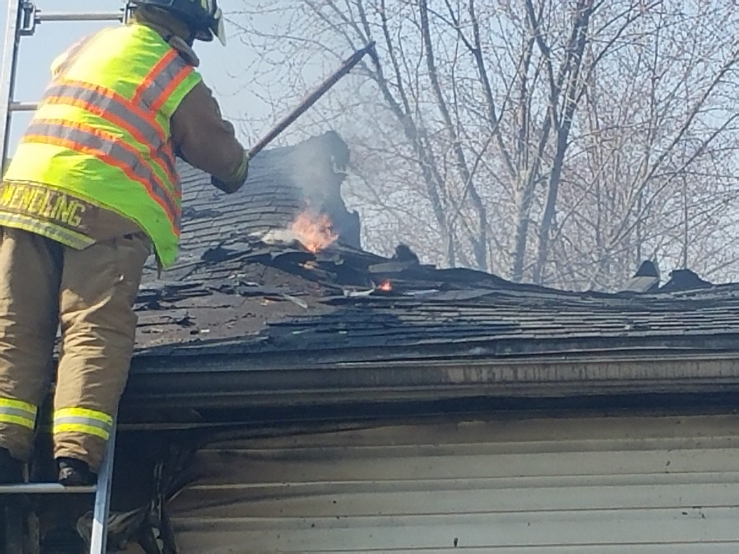 Fire in Altamont Ends With Total Loss of Garage to Residence