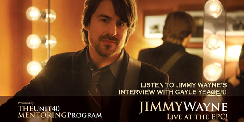 Interview with Jimmy Wayne