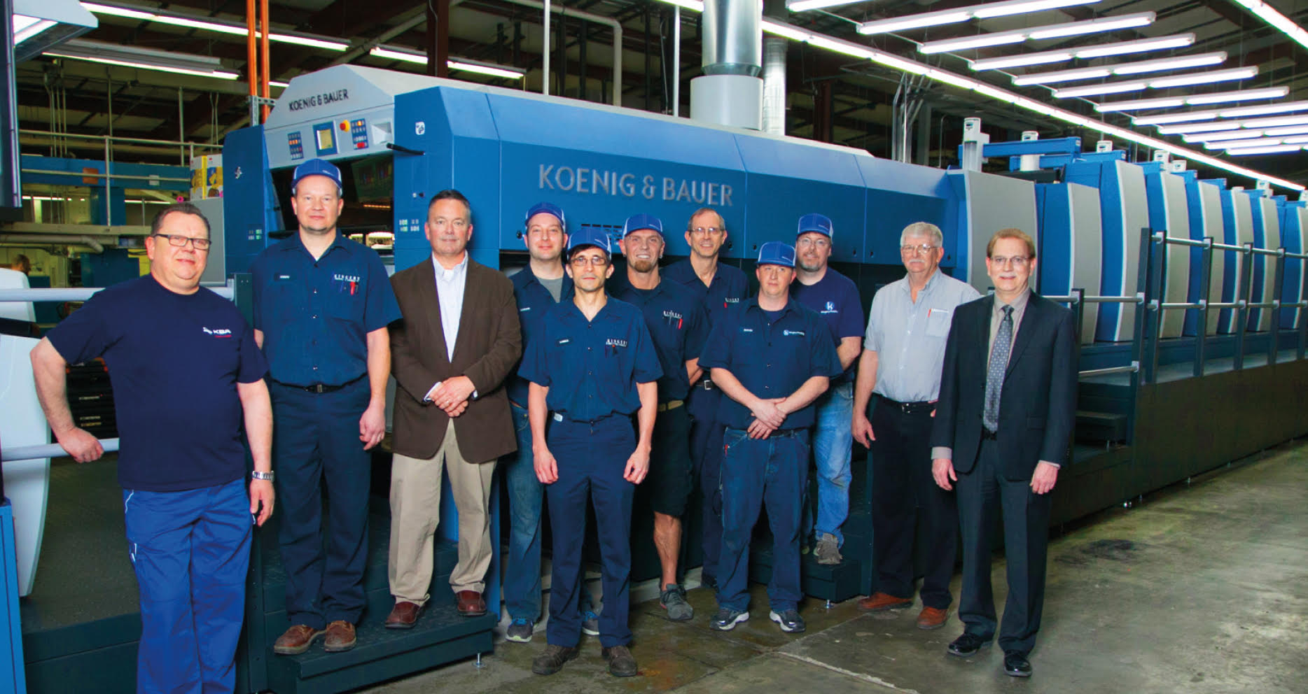 Kingery Printing  Celebrates 50 Years With New Press Investment