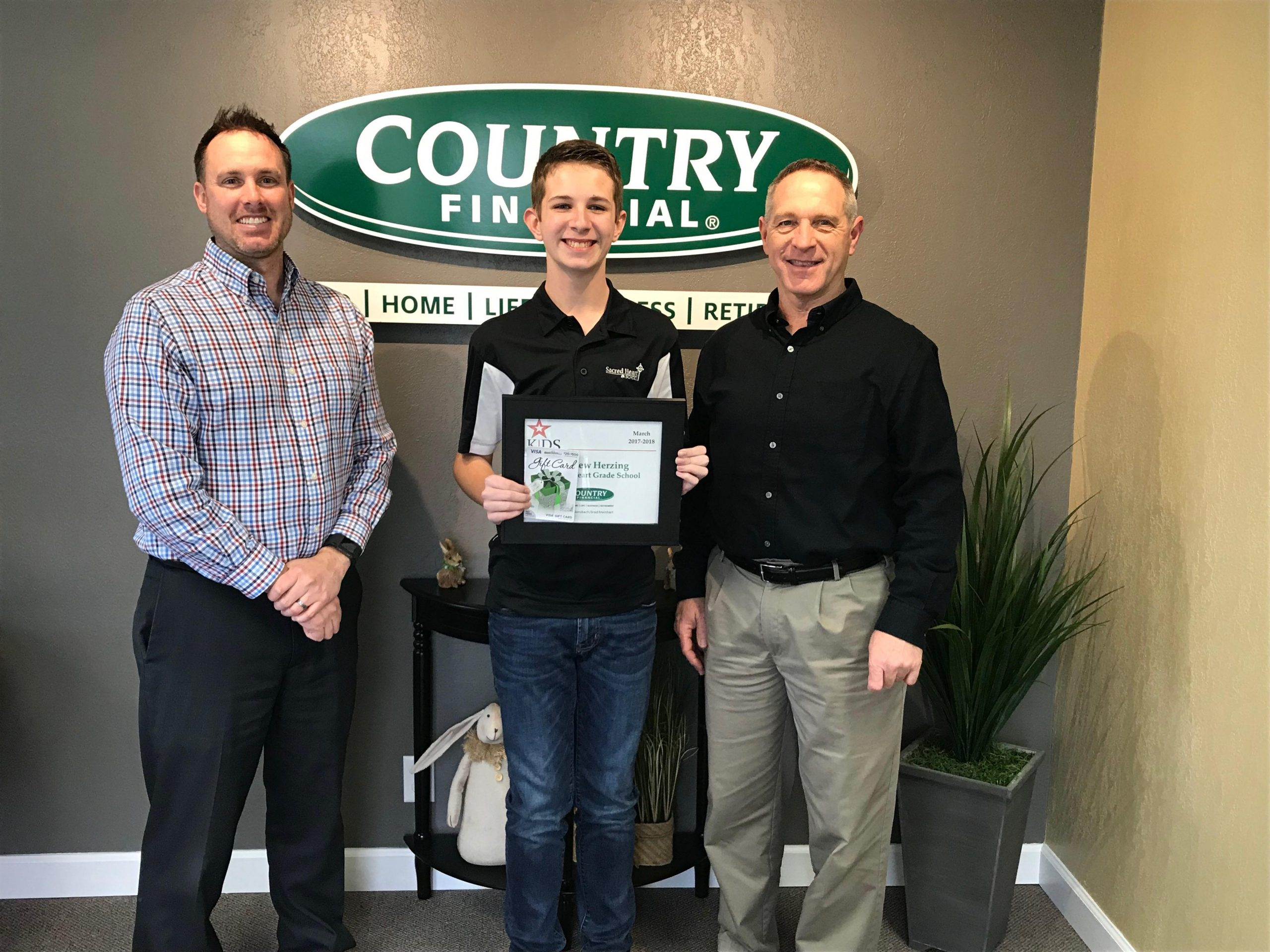 "COUNTRY Financial in Effingham Announces March Winner for ""Kids Have Talent"""