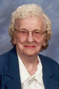 Caroline Katherine Bahrns, 97