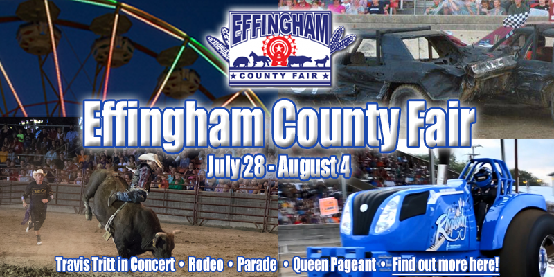 Effingham Fair Events Cancelled for Monday