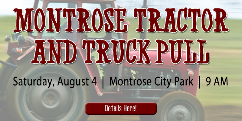 Montrose Tractor & Truck Pull 2018