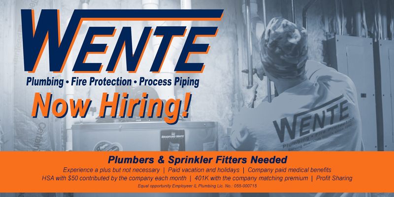 Feature: https://www.facebook.com/pg/Wente-Plumbing-Fire-Protection-183422325385997/jobs/1952139491525708/?source=attached_post_homepage_stream