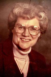 Frances Irene Eden, 88