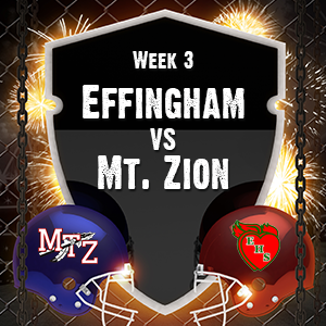 Effingham win first game 41-14 against Mt.Zion