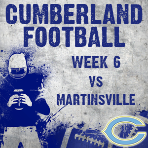Cumberland Improves to 5-1 With Win Over Martinsville