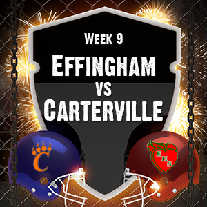 Effingham faces Carterville on Senior Night to close out the Regular Season