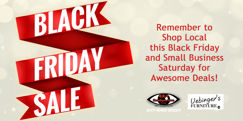 Shop Local: Black Friday & Small Business Saturday