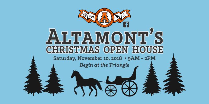 Altamont Christmas Open House
