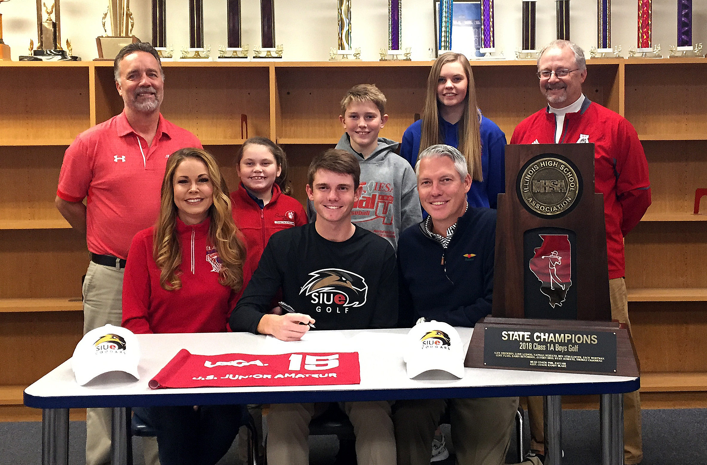 St. Anthony's Luke Ludwig Signs Letter of Intent to Play Golf at SIU-E