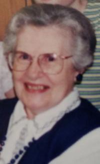 "Elizabeth ""Betty Ann"" Dust, 95"