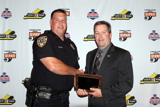OPD Officer Honored at Ceremony