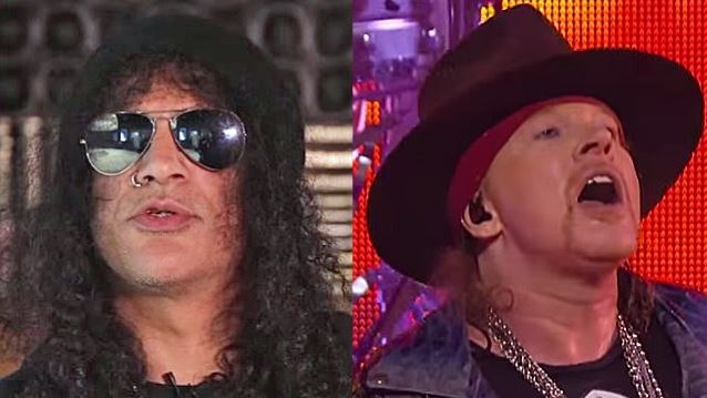 Axl Rose and Slash are finally friends again!