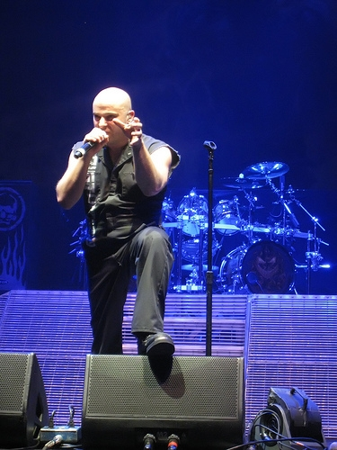 Disturbed's David Draiman Talked About The Challenges With His Side Band Device