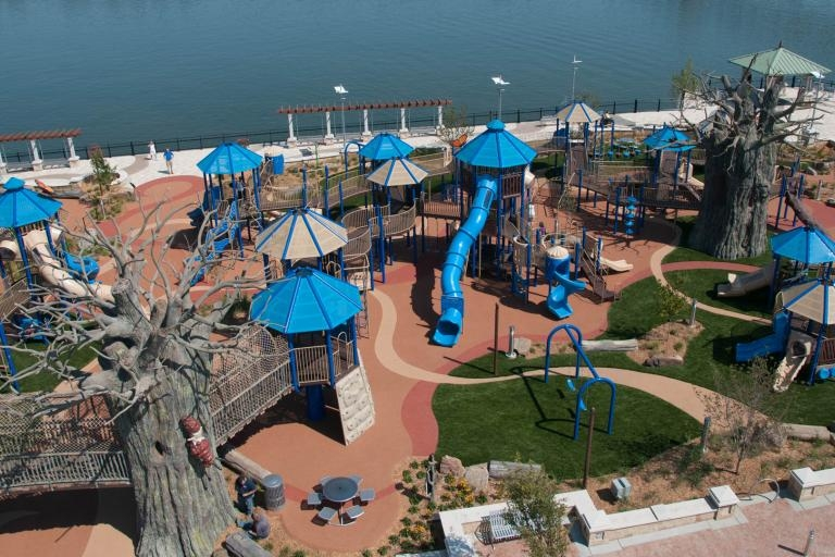 """Sunday's USA Today featured the """"10 Best Seriously Cool Playgrounds"""""""