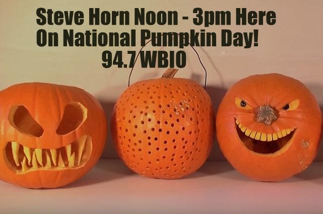 Join Steve Horn Noon til 3pm On 94.7 WBIO!!