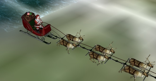 Follow Santa's Trip Around The World Right Here!