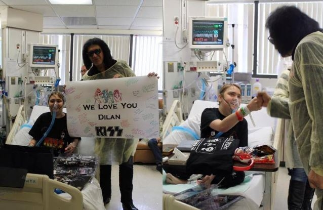 Gene Simmons Granted A Kiss Fan His Final Wish