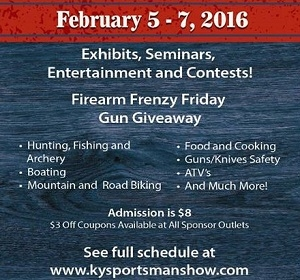 The Kentucky Sportsman Show This Weekend At The Owensboro Convention Center!