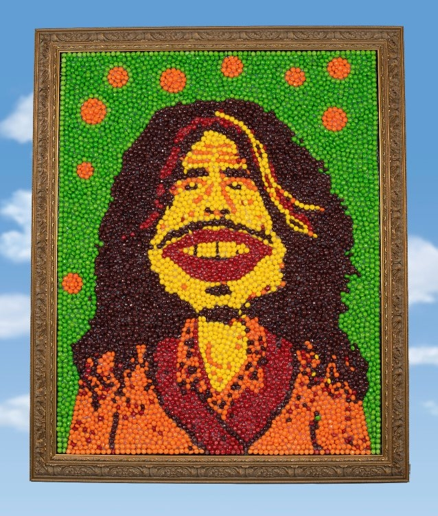 Steven Tyler's Skittle Portrait is Up For Auction