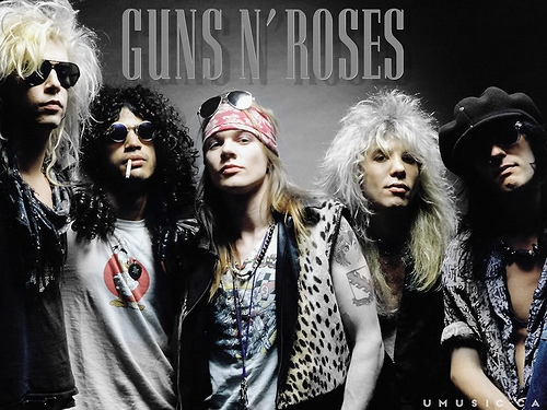 Guns N' Roses Were Detained At Canadian Border For Carrying More Guns Than Roses
