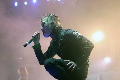 Slipknot's Corey Taylor Has To Perform With A Neck Brace