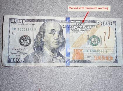 OPD Investigating Fake Money