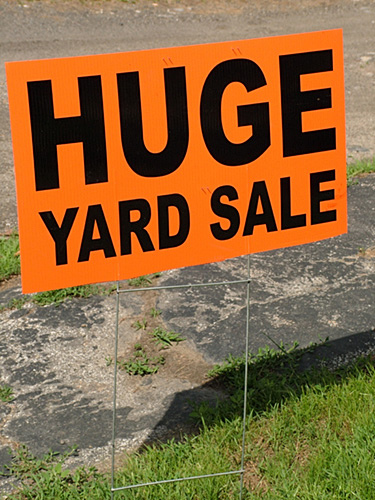 U.S. 60 Yard Sale Coming