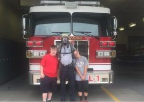 Owensboro F.D. Opened Their Doors To 2 Adults With Down Syndrome Last Week