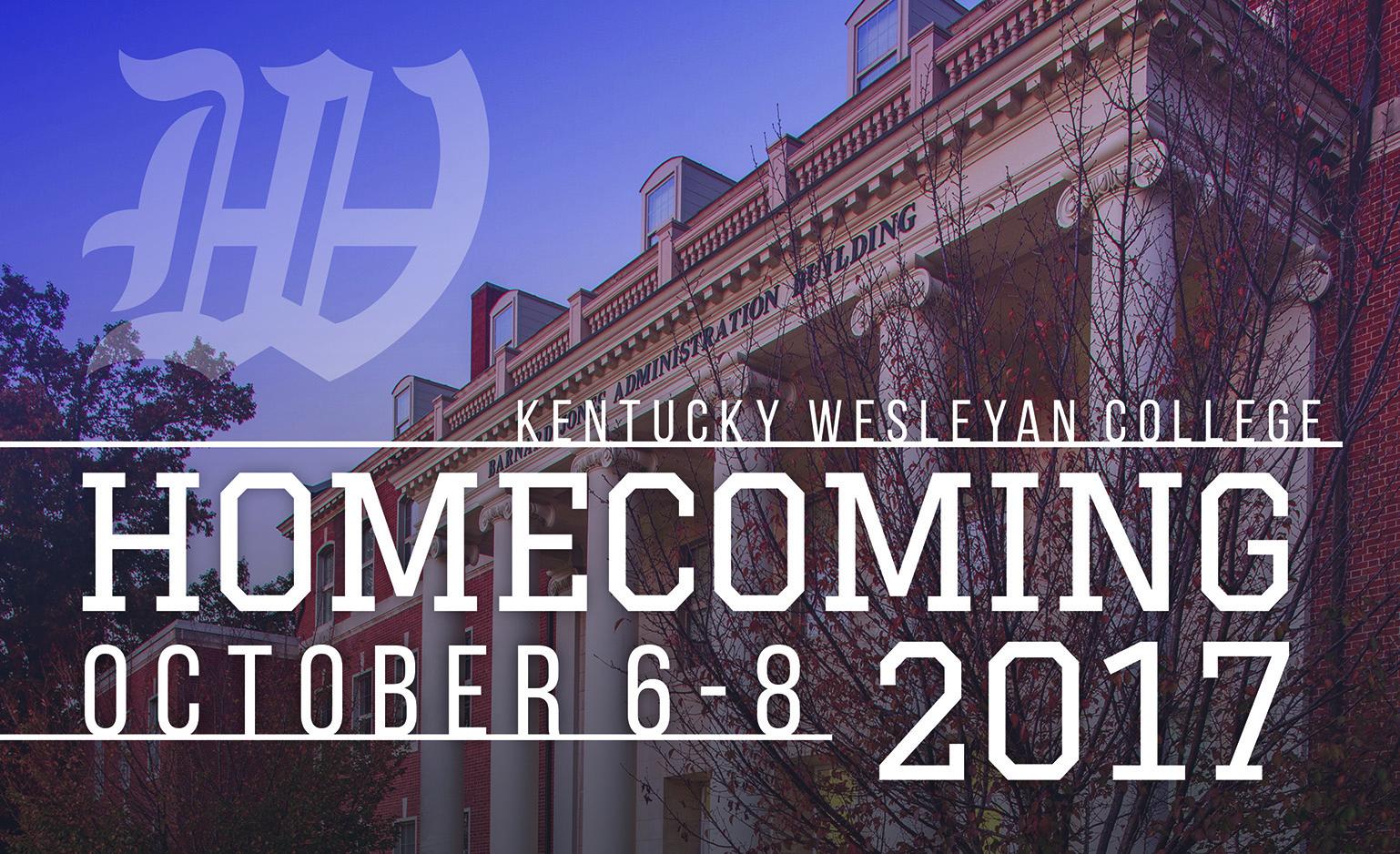 KWC Homecoming Oct. 6-8