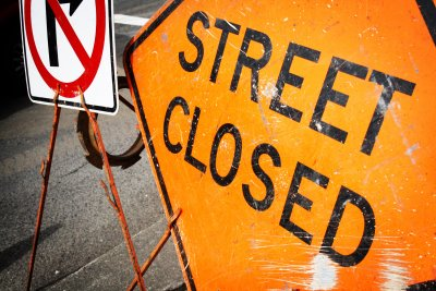 Tuesday Street Closures for Street Repair