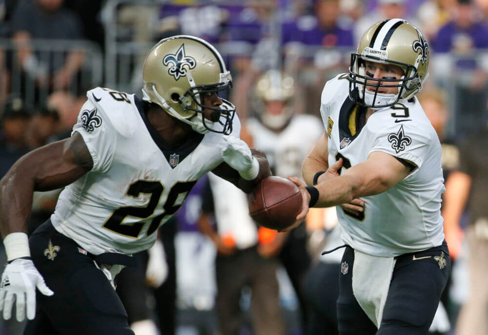 ADRIAN PETERSON TRADED FROM SAINTS TO CARDS