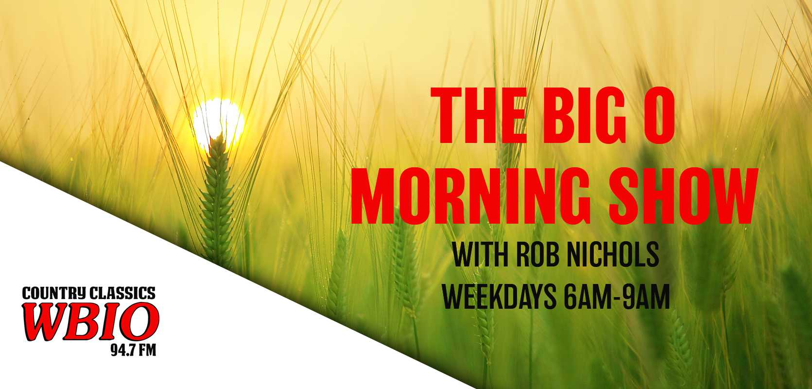The Tuesday Big O MOrning Show is Now!