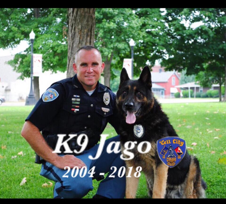 Retired Tell City K9 Officer Dies